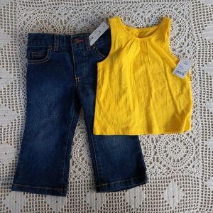Jeans and Top Set Size 12M